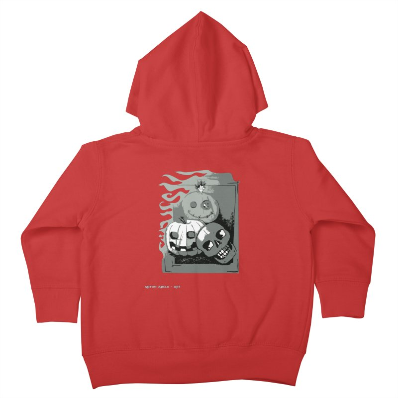 3 Best Buds Kids Toddler Zip-Up Hoody by AntonAbela-Art's Artist Shop