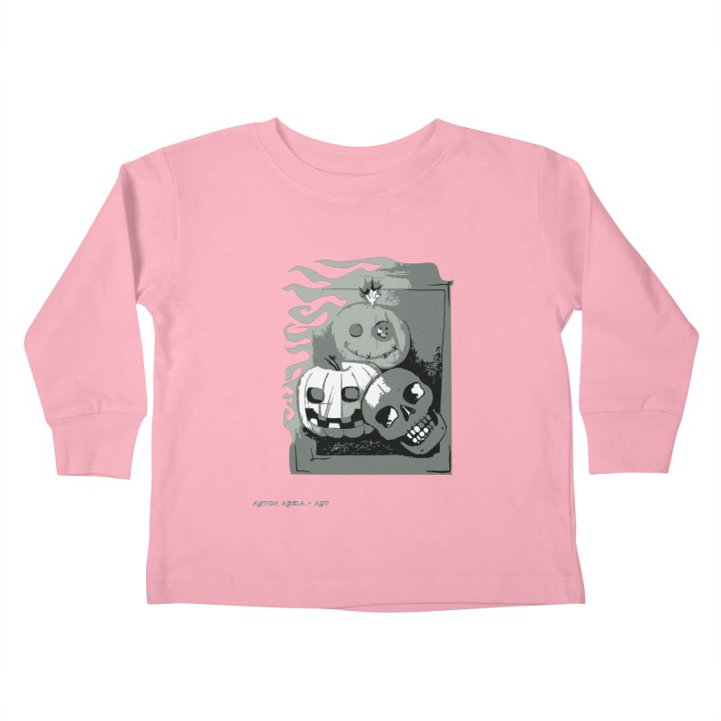 3 Best Buds Kids Toddler Longsleeve T-Shirt by AntonAbela-Art's Artist Shop