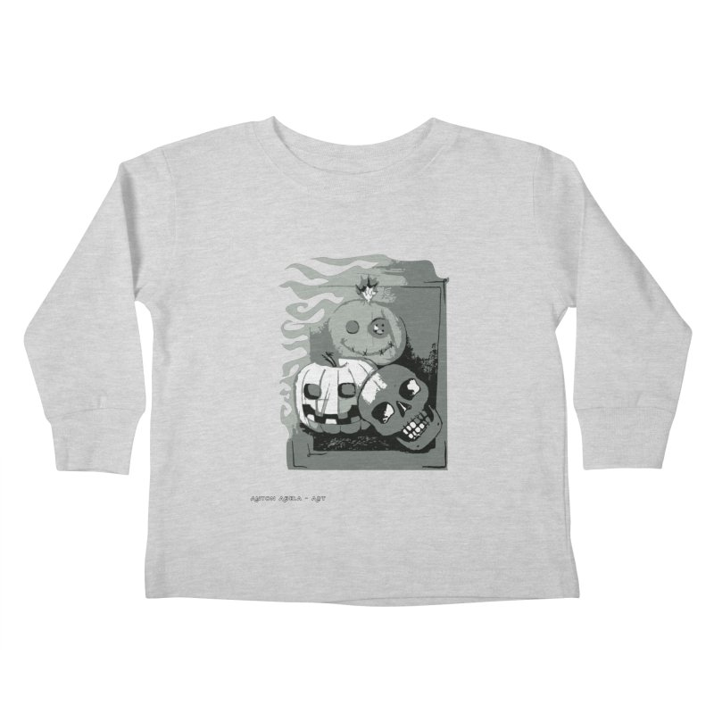 3 Best Buds Kids Toddler Longsleeve T-Shirt by AntonAbela-Art's Artist Shop