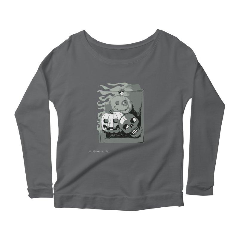 3 Best Buds Women's Longsleeve T-Shirt by AntonAbela-Art's Artist Shop