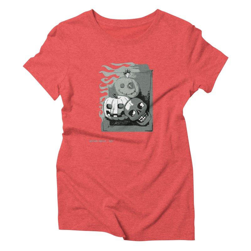 3 Best Buds Women's T-Shirt by AntonAbela-Art's Artist Shop