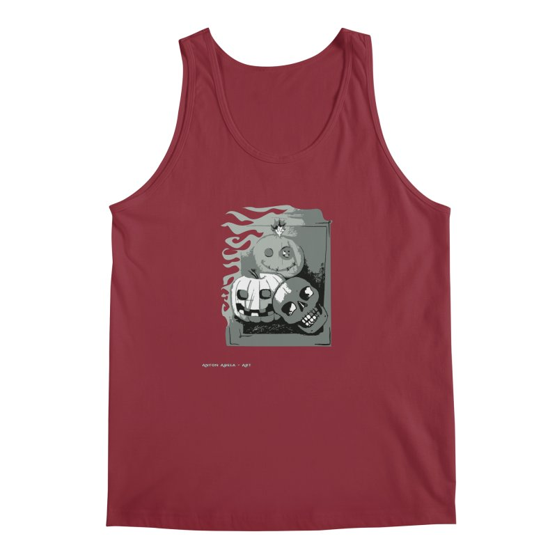 3 Best Buds Men's Regular Tank by AntonAbela-Art's Artist Shop