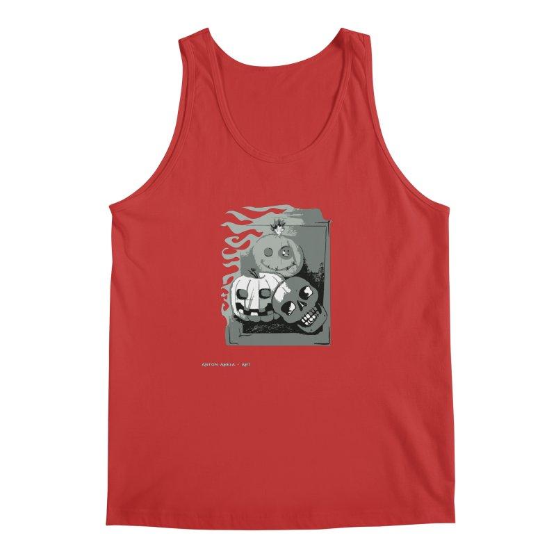 3 Best Buds Men's Regular Tank by AntonAbela-Art's Artist Shop