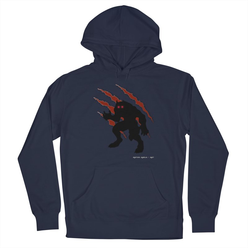 Once Marked By the Beast Men's Pullover Hoody by AntonAbela-Art's Artist Shop