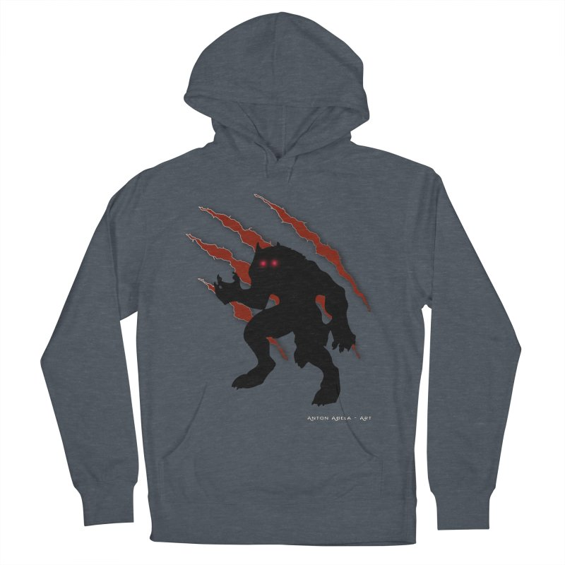 Once Marked By the Beast Women's French Terry Pullover Hoody by AntonAbela-Art's Artist Shop