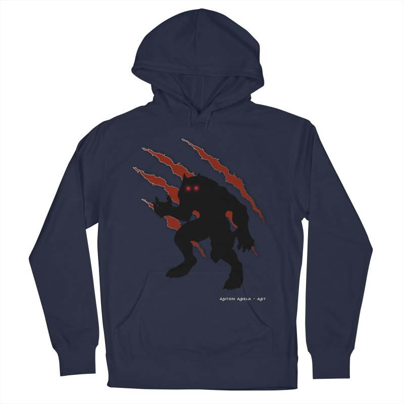 Once Marked By the Beast Men's French Terry Pullover Hoody by AntonAbela-Art's Artist Shop
