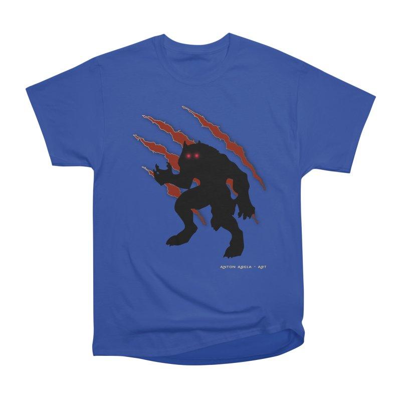 Once Marked By the Beast Women's Heavyweight Unisex T-Shirt by AntonAbela-Art's Artist Shop