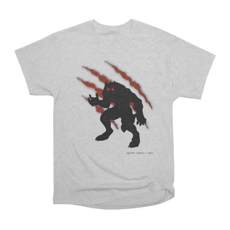 Once Marked By the Beast Men's Heavyweight T-Shirt by AntonAbela-Art's Artist Shop