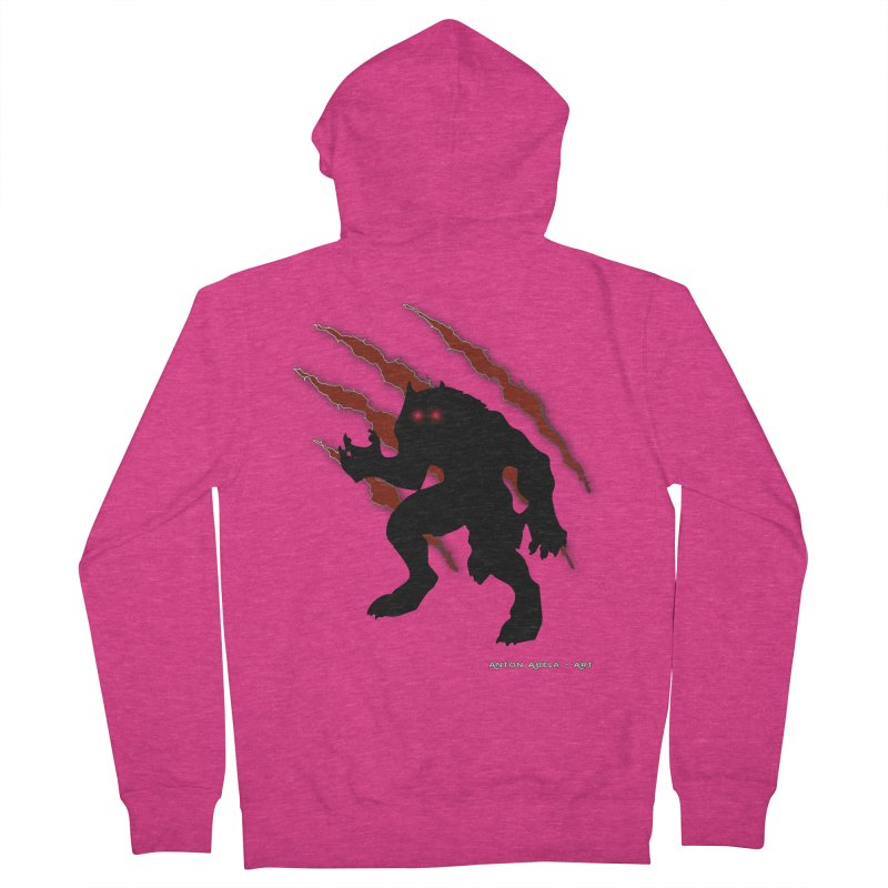 Once Marked By the Beast Women's French Terry Zip-Up Hoody by AntonAbela-Art's Artist Shop