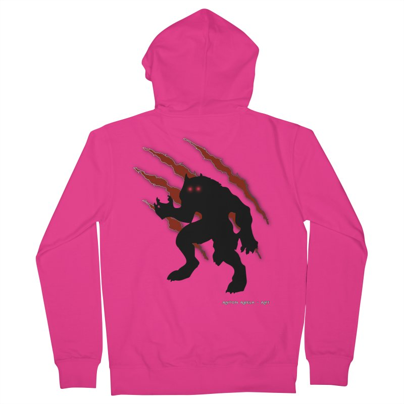 Once Marked By the Beast Men's Zip-Up Hoody by AntonAbela-Art's Artist Shop