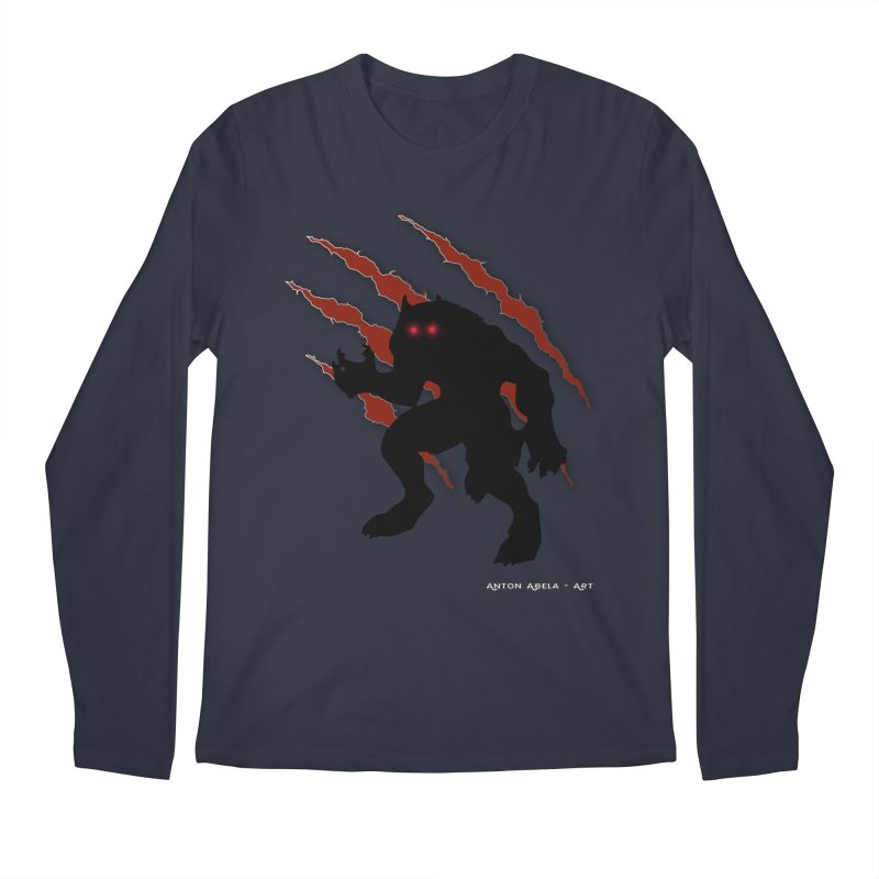 Once Marked By the Beast Men's Regular Longsleeve T-Shirt by AntonAbela-Art's Artist Shop