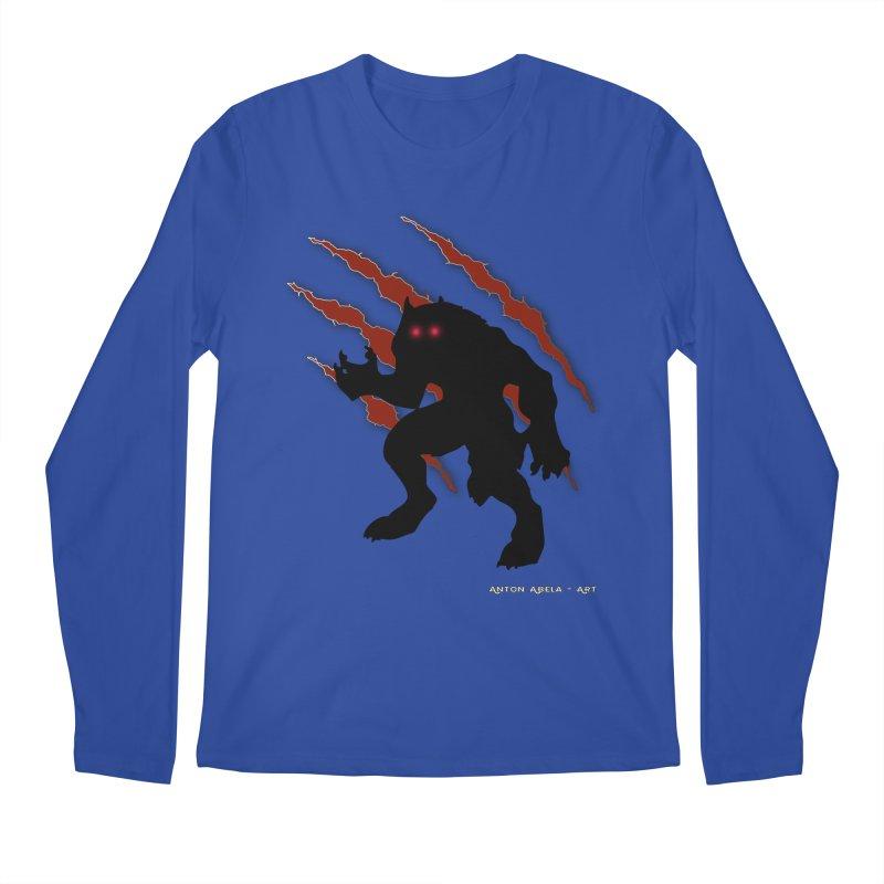 Once Marked By the Beast Men's Regular Longsleeve T-Shirt by AntonAbela-Art's Artist Shop