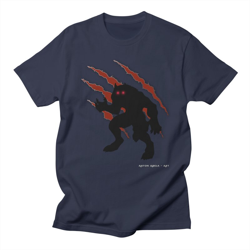 Once Marked By the Beast Men's Regular T-Shirt by AntonAbela-Art's Artist Shop