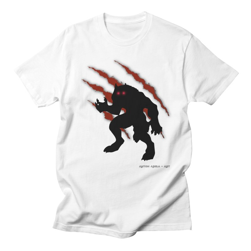 Once Marked By the Beast Men's Regular T-Shirt by AntonAbela-Art's Artist Shop