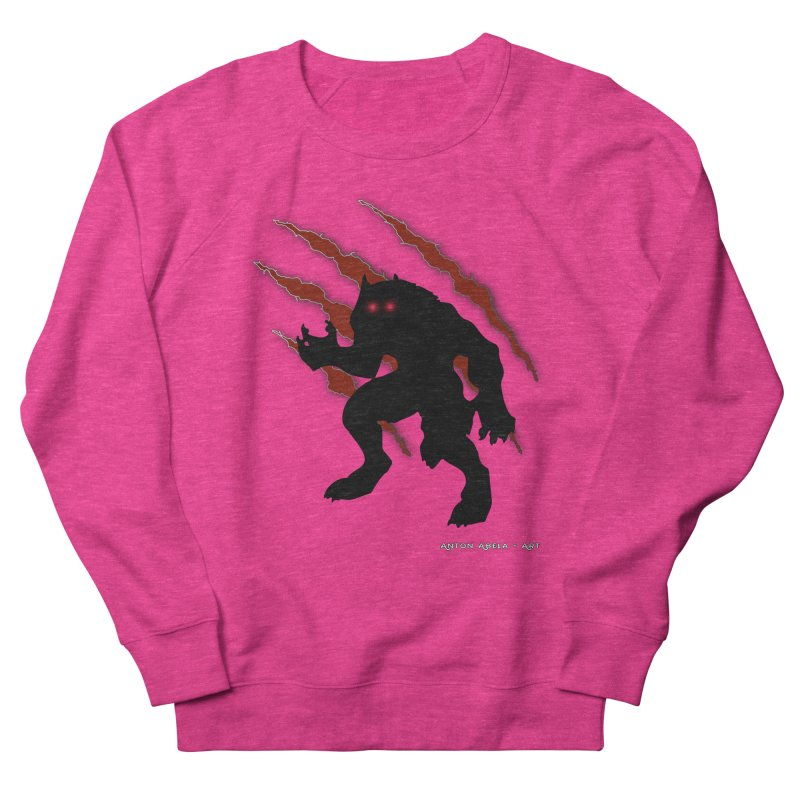 Once Marked By the Beast Women's French Terry Sweatshirt by AntonAbela-Art's Artist Shop