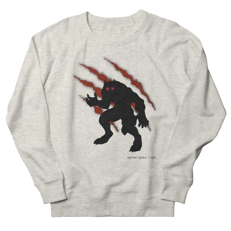 Once Marked By the Beast Men's French Terry Sweatshirt by AntonAbela-Art's Artist Shop