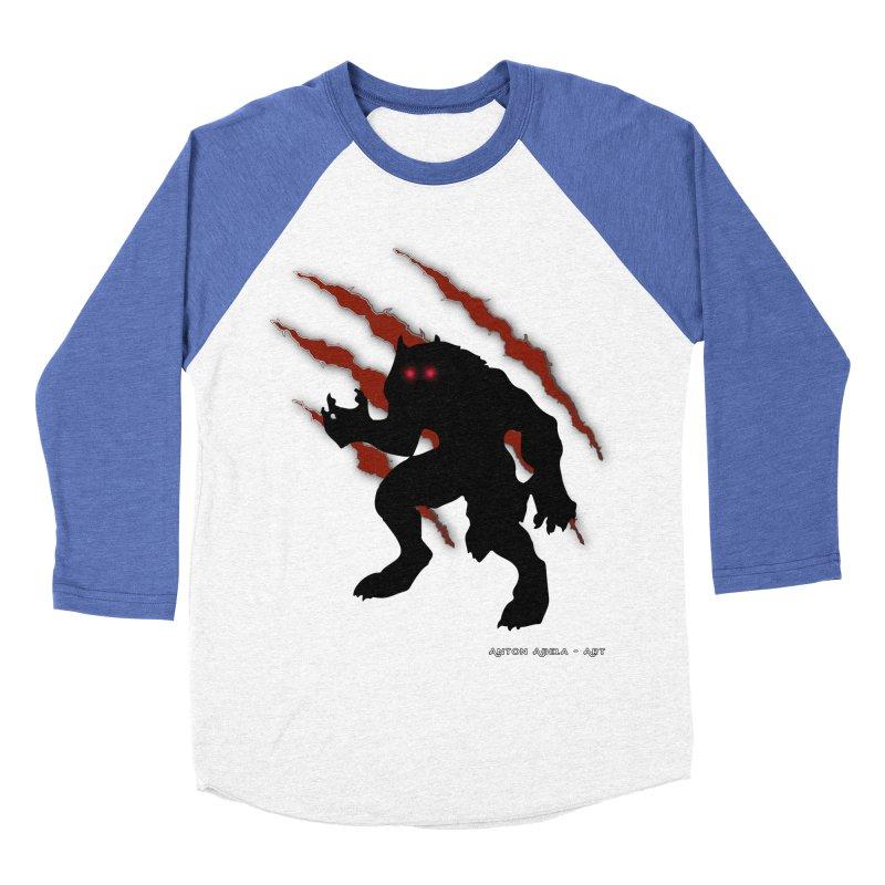 Once Marked By the Beast Men's Baseball Triblend T-Shirt by AntonAbela-Art's Artist Shop