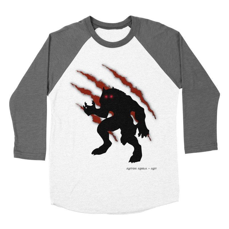 Once Marked By the Beast Men's Baseball Triblend Longsleeve T-Shirt by AntonAbela-Art's Artist Shop