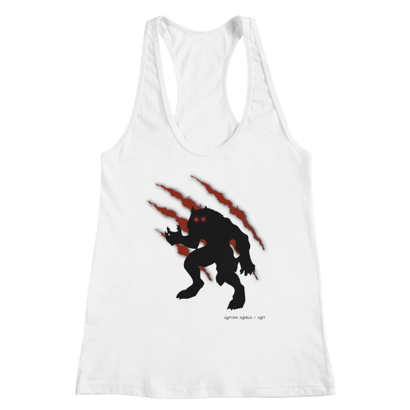 Once Marked By the Beast Women's Racerback Tank by AntonAbela-Art's Artist Shop