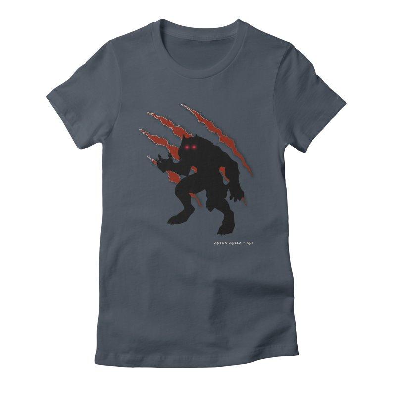 Once Marked By the Beast Women's T-Shirt by AntonAbela-Art's Artist Shop