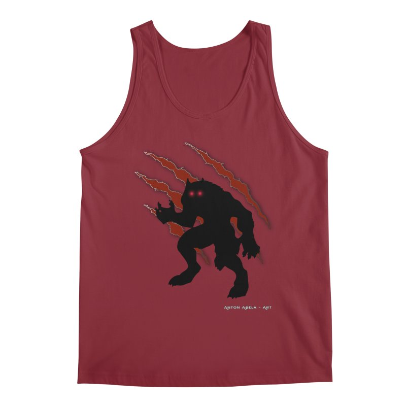 Once Marked By the Beast Men's Tank by AntonAbela-Art's Artist Shop
