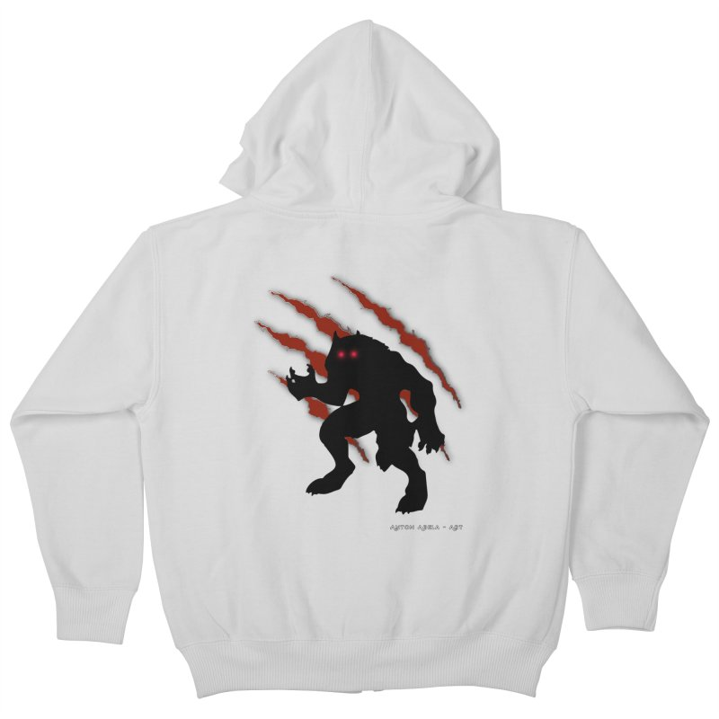 Once Marked By the Beast Kids Zip-Up Hoody by AntonAbela-Art's Artist Shop