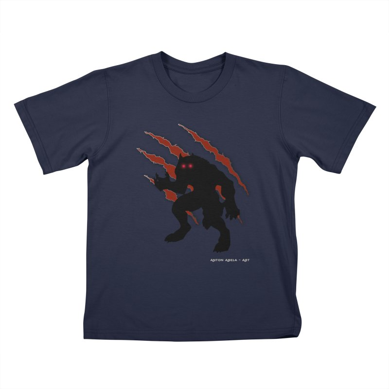 Once Marked By the Beast Kids T-Shirt by AntonAbela-Art's Artist Shop