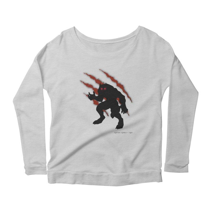 Once Marked By the Beast Women's Scoop Neck Longsleeve T-Shirt by AntonAbela-Art's Artist Shop