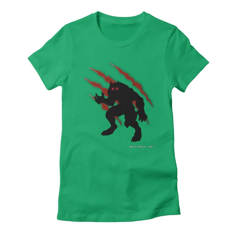Once Marked By the Beast Women's T-Shirt by AntonAbela-Art's Artist Shop
