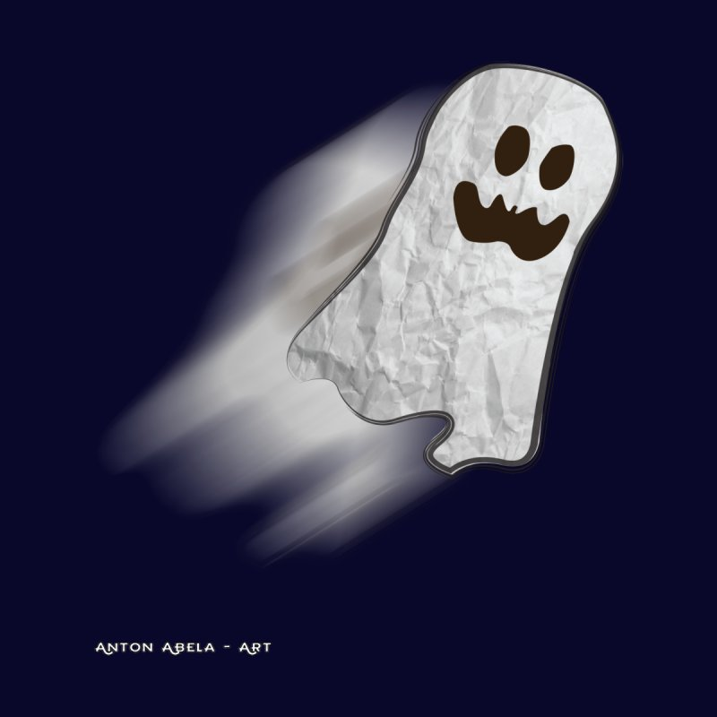 Candy Ghost by AntonAbela-Art's Artist Shop