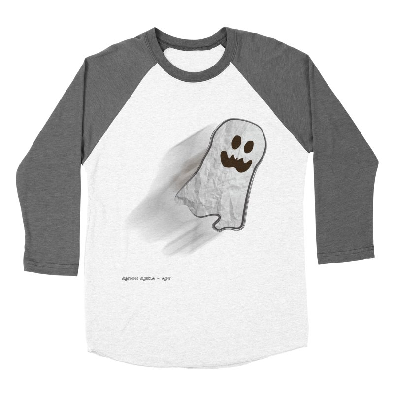 Candy Ghost Women's Longsleeve T-Shirt by AntonAbela-Art's Artist Shop