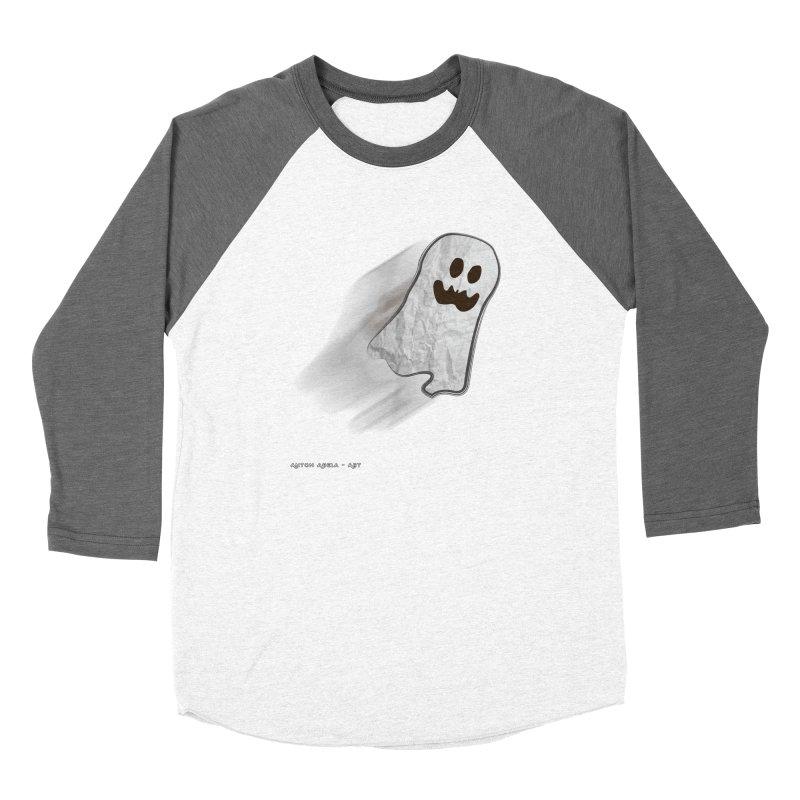 Candy Ghost Women's Longsleeve T-Shirt by AntonAbela-Art's Artist Shop