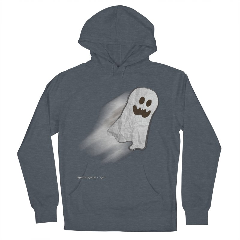 Candy Ghost Women's French Terry Pullover Hoody by AntonAbela-Art's Artist Shop