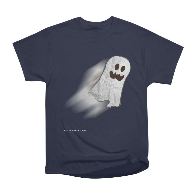 Candy Ghost Women's Heavyweight Unisex T-Shirt by AntonAbela-Art's Artist Shop