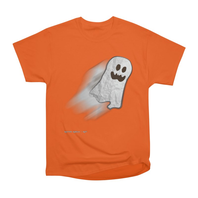 Candy Ghost Men's Heavyweight T-Shirt by AntonAbela-Art's Artist Shop