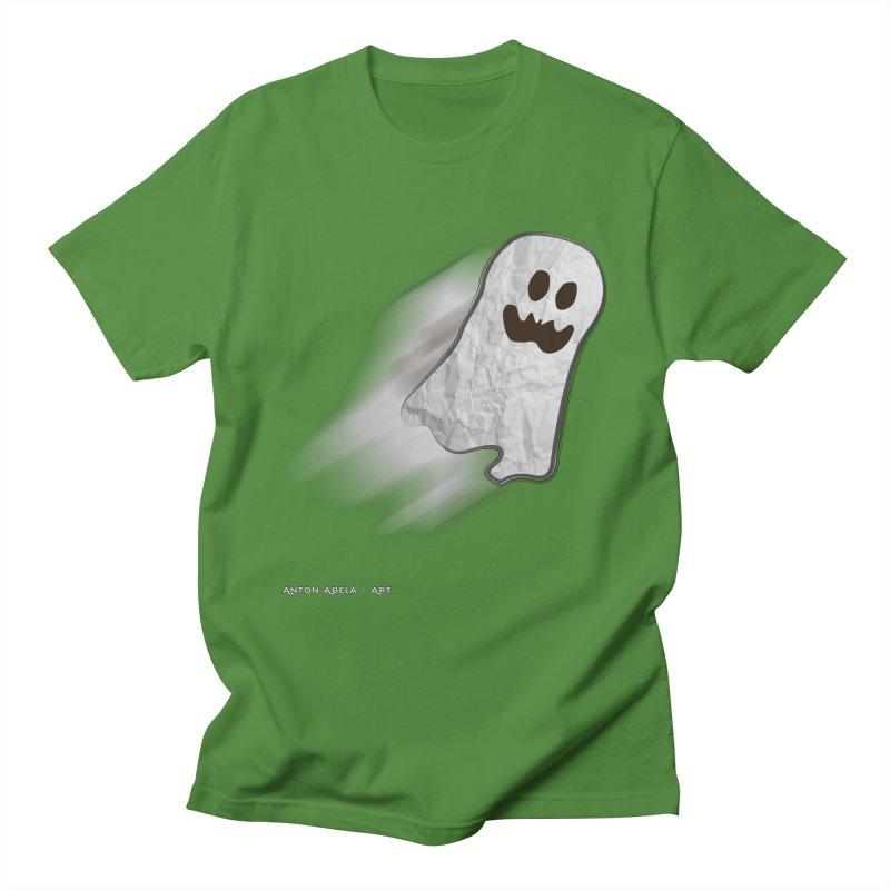 Candy Ghost Women's Regular Unisex T-Shirt by AntonAbela-Art's Artist Shop