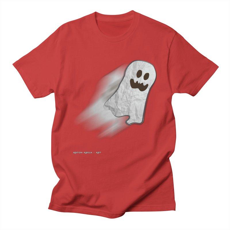 Candy Ghost Women's Unisex T-Shirt by AntonAbela-Art's Artist Shop
