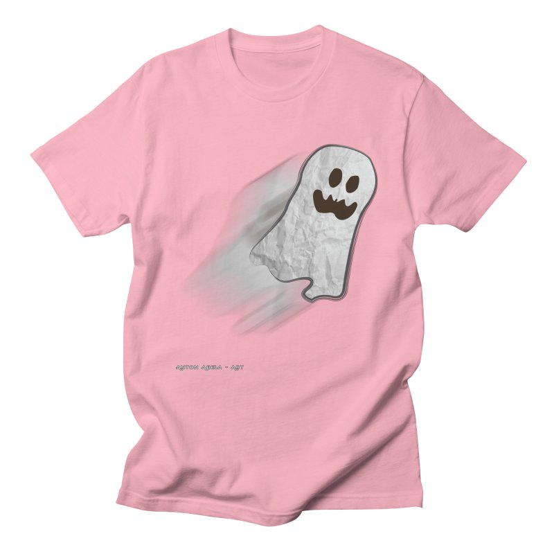 Candy Ghost Men's Regular T-Shirt by AntonAbela-Art's Artist Shop