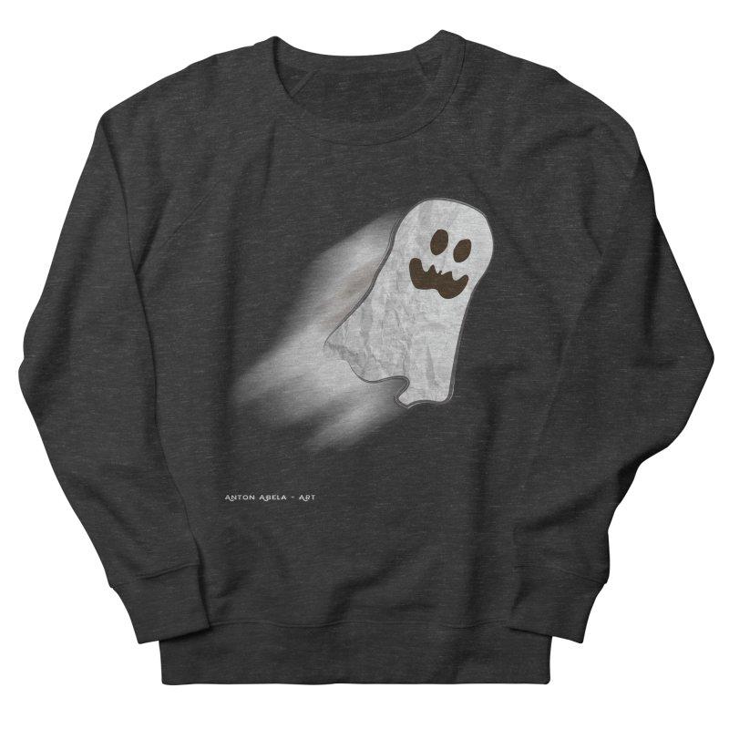 Candy Ghost Women's Sweatshirt by AntonAbela-Art's Artist Shop