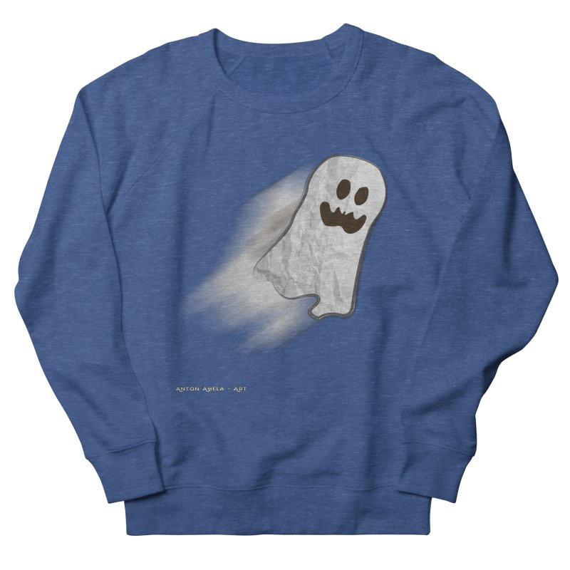 Candy Ghost Women's Sweatshirt by AntonAbela-Art's Artist Shop