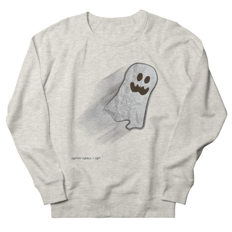 Candy Ghost Women's French Terry Sweatshirt by AntonAbela-Art's Artist Shop
