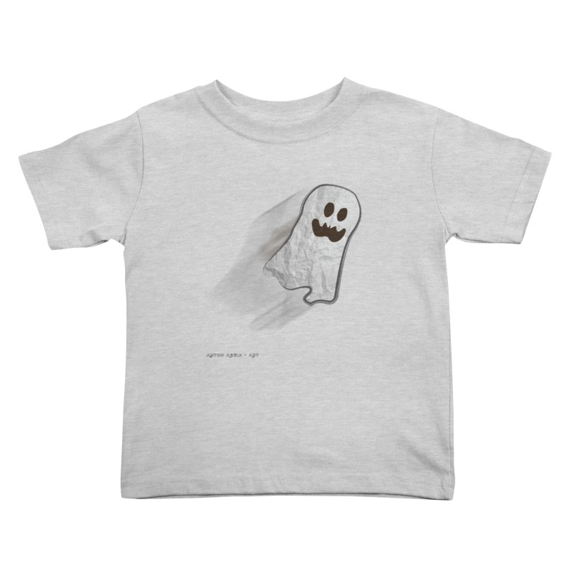 Candy Ghost Kids Toddler T-Shirt by AntonAbela-Art's Artist Shop
