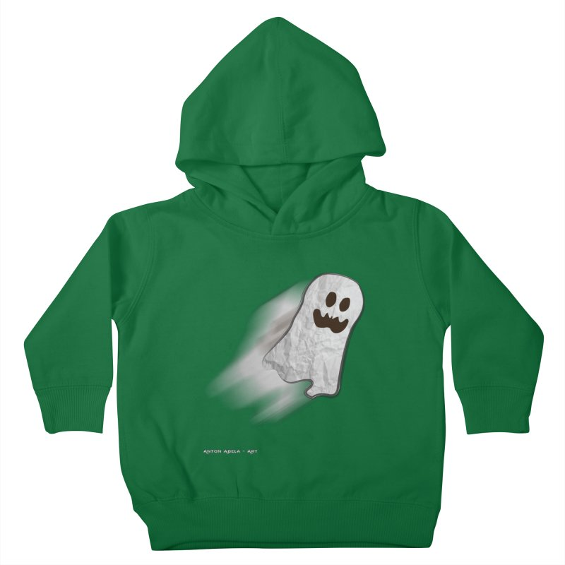 Candy Ghost Kids Toddler Pullover Hoody by AntonAbela-Art's Artist Shop