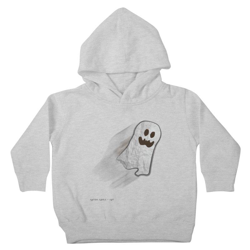 Candy Ghost Kids Toddler Pullover Hoody by AntonAbela-Art's Artist Shop