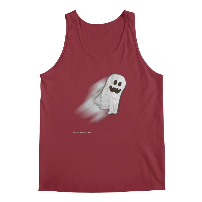 Candy Ghost Men's Tank by AntonAbela-Art's Artist Shop