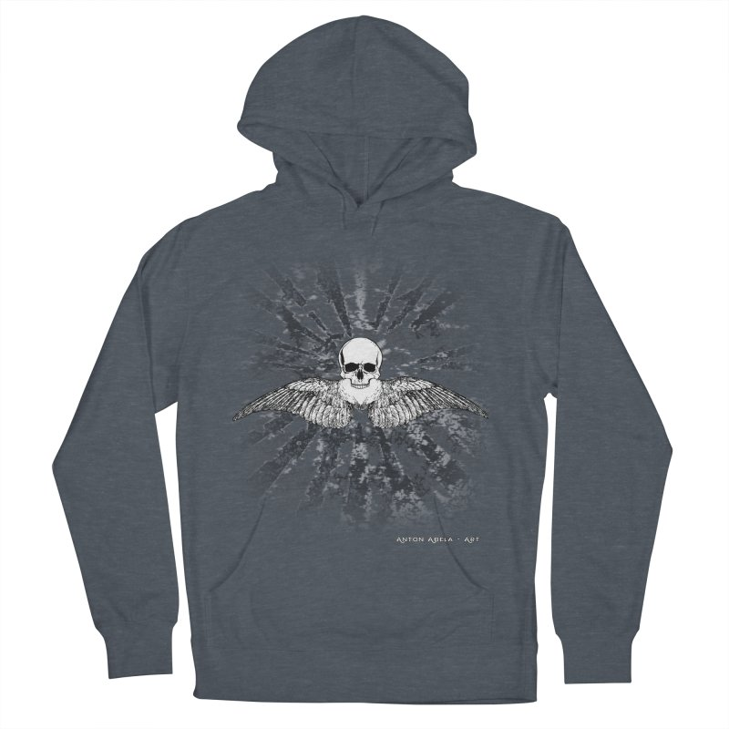 Death Seraphim Women's French Terry Pullover Hoody by AntonAbela-Art's Artist Shop
