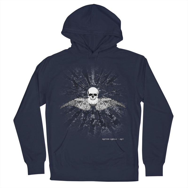 Death Seraphim Men's French Terry Pullover Hoody by AntonAbela-Art's Artist Shop