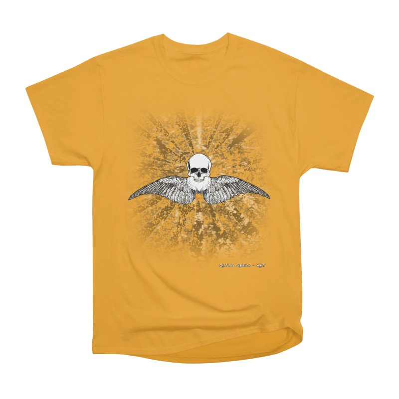 Death Seraphim Women's Heavyweight Unisex T-Shirt by AntonAbela-Art's Artist Shop
