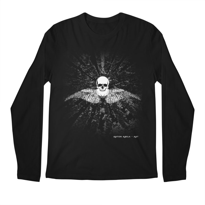 Death Seraphim Men's Regular Longsleeve T-Shirt by AntonAbela-Art's Artist Shop
