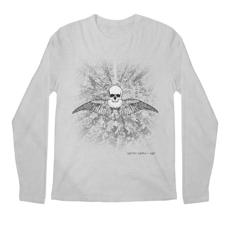 Death Seraphim Men's Regular Longsleeve T-Shirt by AntonAbela-Art's Artist Shop